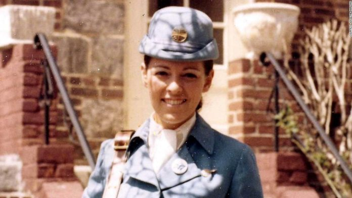 How a PanAm flight attendant fell in love with a CIA officer on a plane