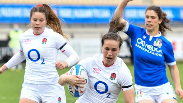 Italy 3-67 England: Red Roses through to Women's Six Nations final