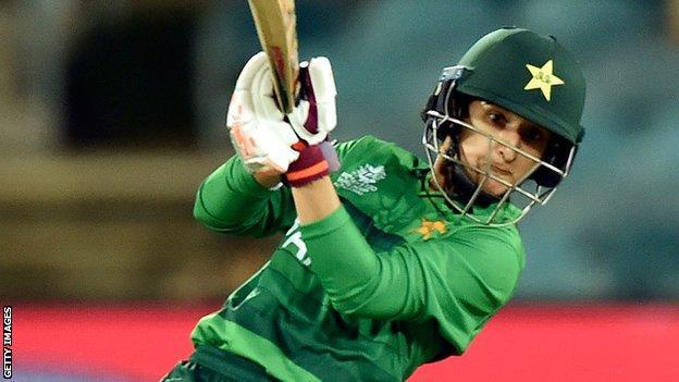 Pakistan's Bismah Maroof