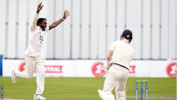 England fast bowler Jofra Archer