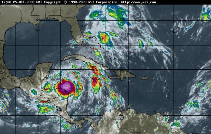 Tropical Storm Zeta to bring more rain, rough seas