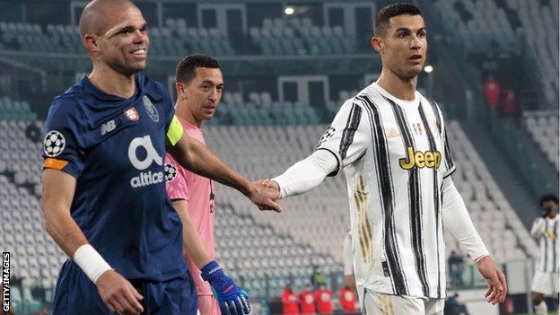 Juventus lose to Porto in the Champions League