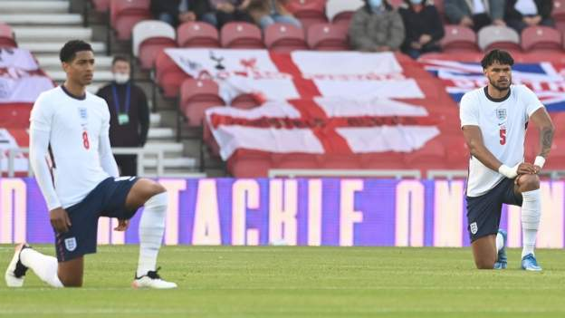 Rio Ferdinand calls for education on taking a knee and social media usage after fans boo England