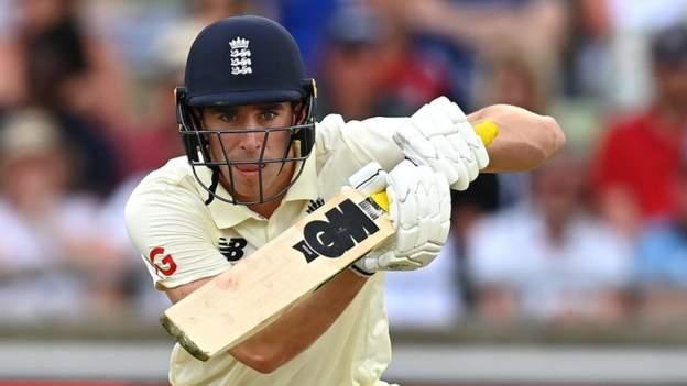England v New Zealand: Rory Burns & Dan Lawrence keep hosts afloat