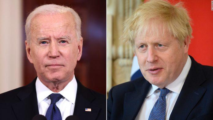 Boris Johnson's big Biden meeting overshadowed by Brexit trouble
