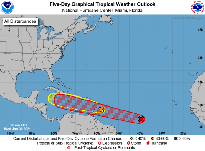 Weather system set to become tropical depression
