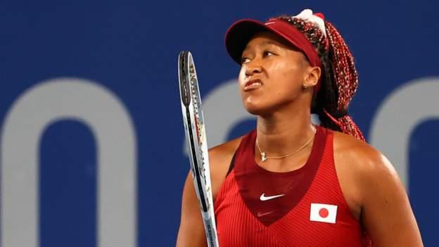 Tokyo Olympics: Naomi Osaka loses to Marketa Vondrousova in women's singles tennis