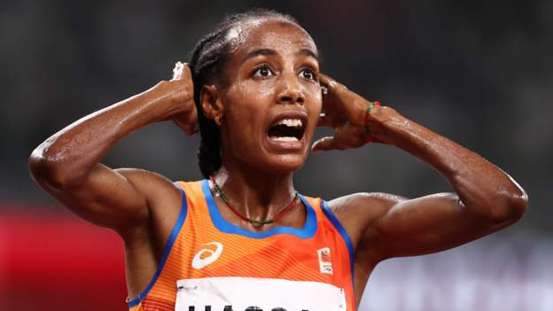 Tokyo Olympics: Sifan Hassan takes 5,000m gold in first leg of attempted treble