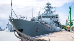 German warship heads for South China Sea for first time in two decades amid tension with Beijing