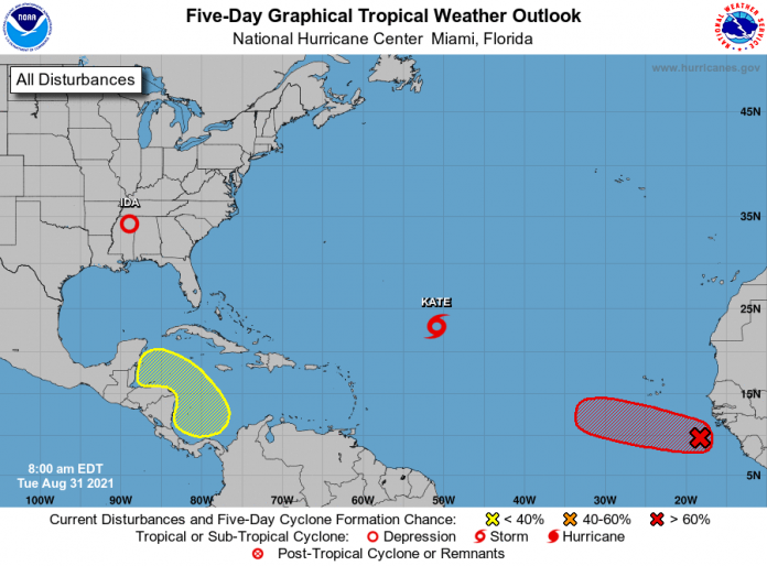 Weather system south of Cayman expected to bring rainfall