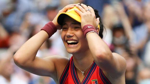 Emma Raducanu: US Open champion 'outstanding', says the Queen