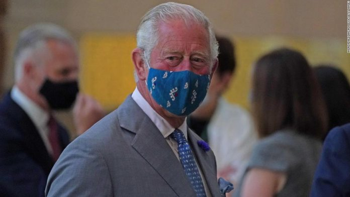 Prince Charles visits Kelvingrove Art Gallery and Museum in Glasgow, Scotland on September 8, 2021.