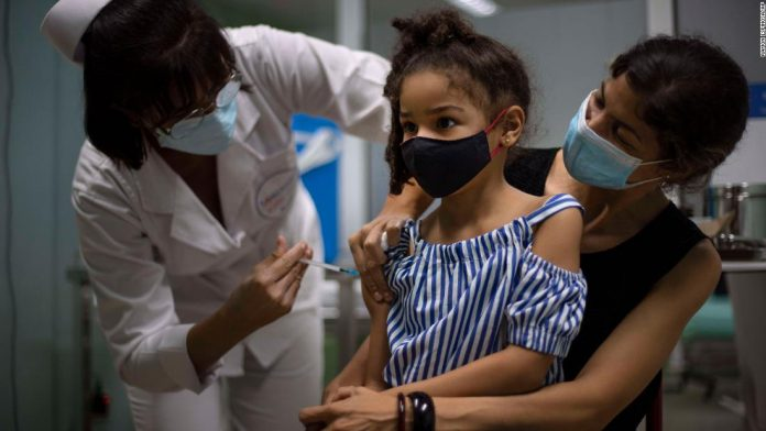 Cuba's Covid-19 vaccine now offered to children as young as two